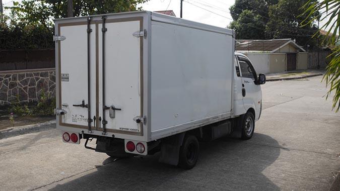 Kia refrigerado 1.5T Diesel 2009, termoking, caja refrigerada