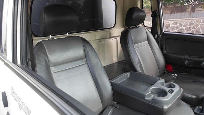 Kia Refrigerado 1.5T Diesel 2009 interior asientos